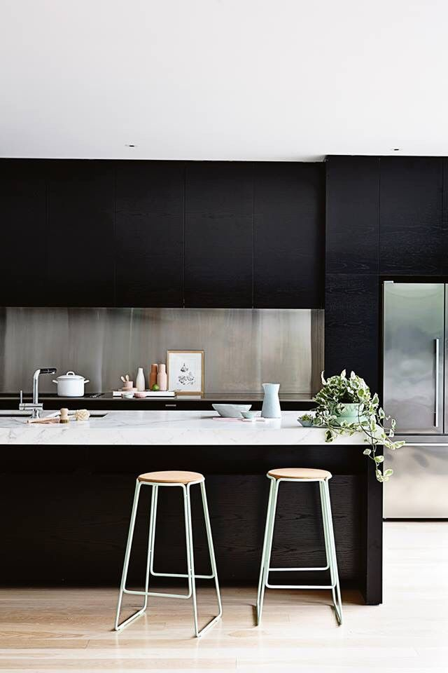 Black Kitchen minimalista
