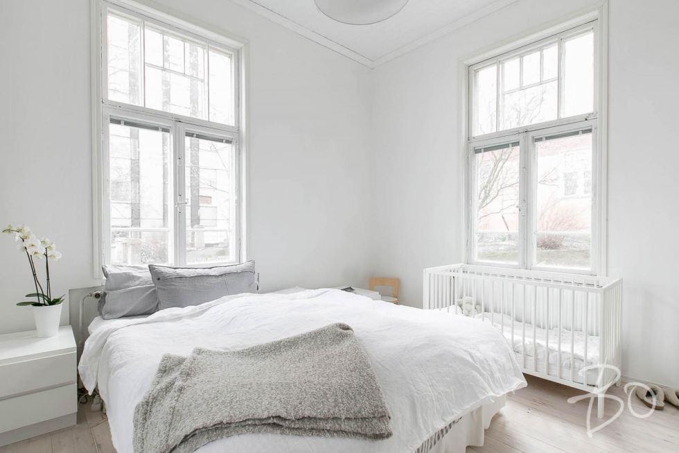 Estilo Escandinavo dormitorio principal