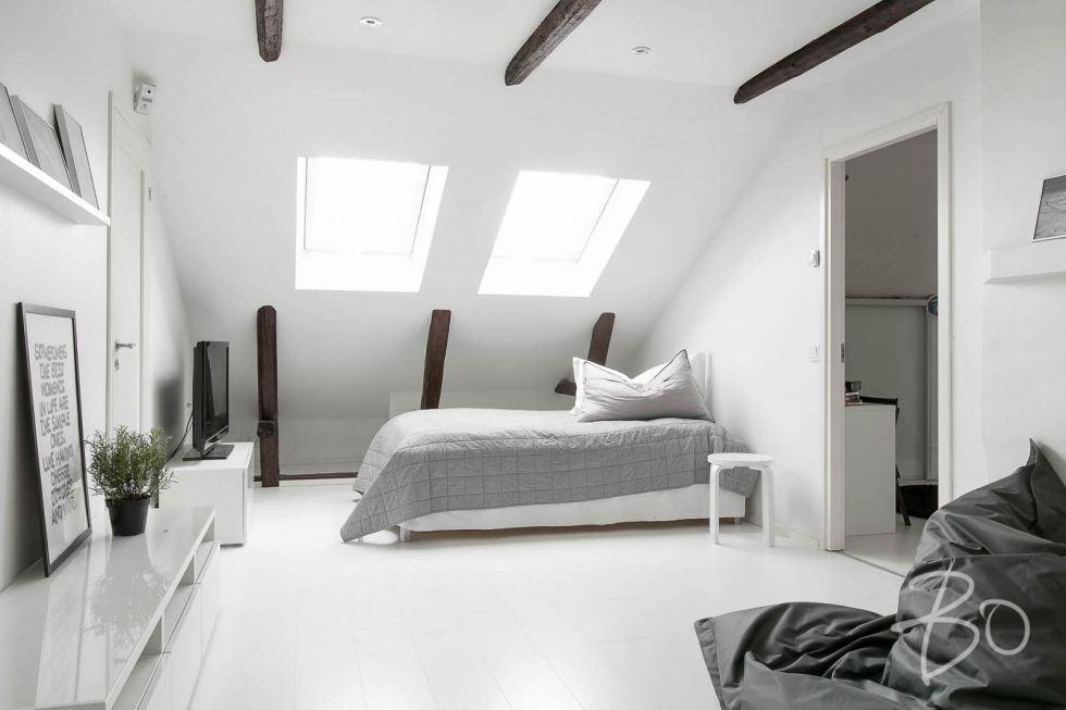 Estilo Escandinavo dormitorio