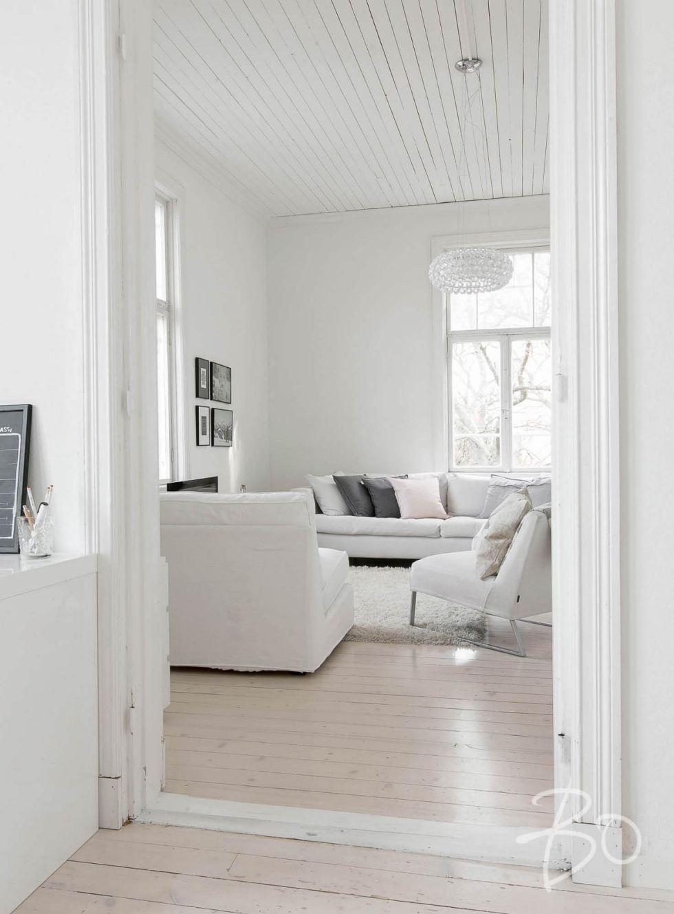 Estilo escandinavo apartamento lleno de sencillez y belleza - Cabecero estilo escandinavo ...