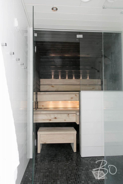 Estilo Escandinavo sauna