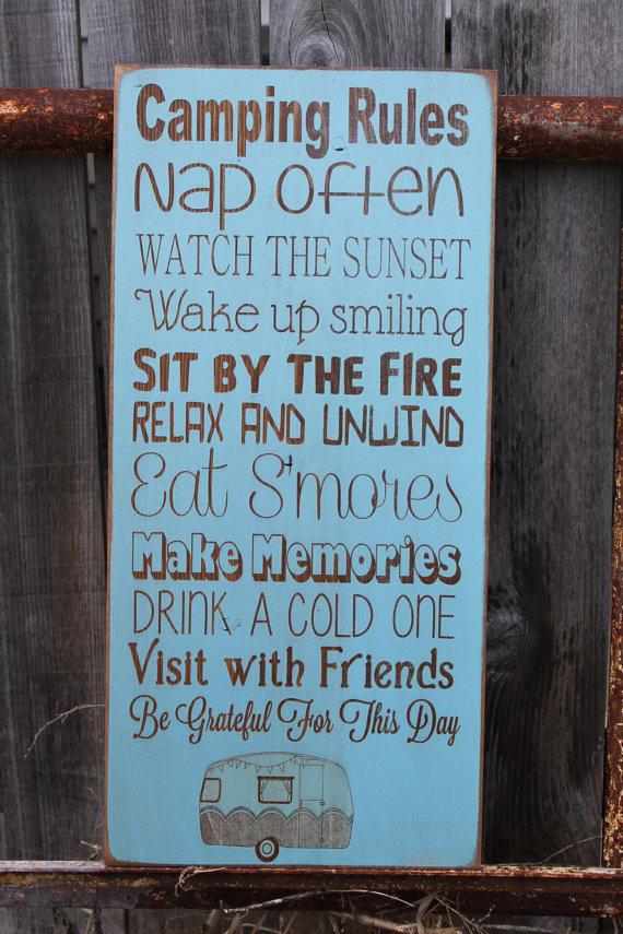 Reglas del Camping