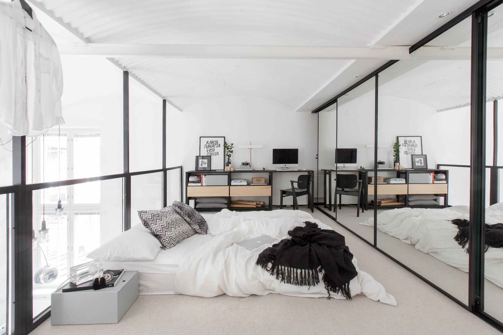Loft Escandinavo dormitorio 3