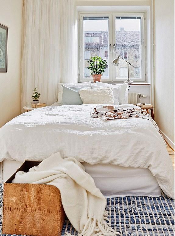 camas deshechas nórdicas