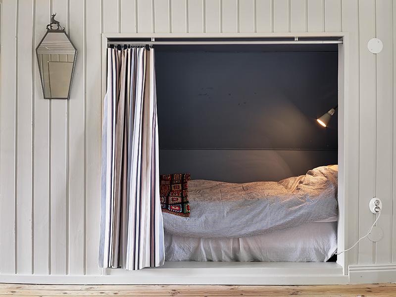 Cortinas puertas dormitorio