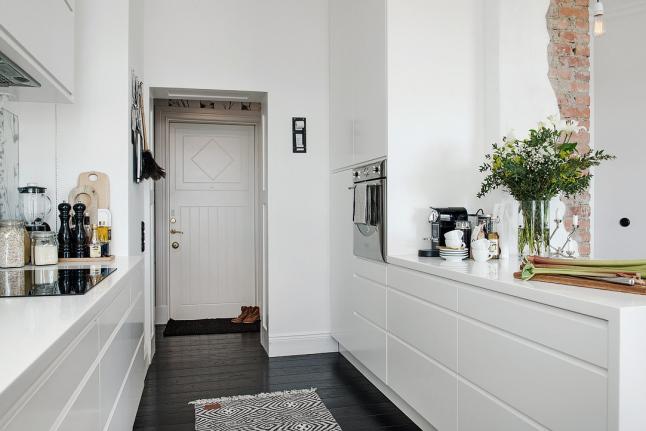 Detalles de estilo cocina casa sueca