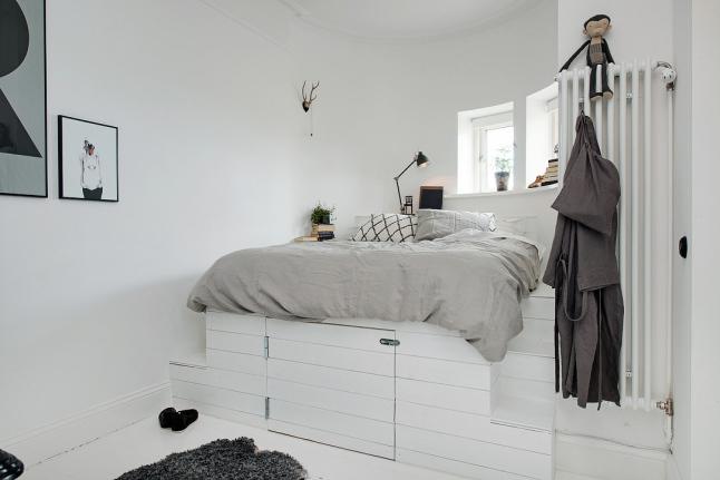 Detalles de estilo dormitorio