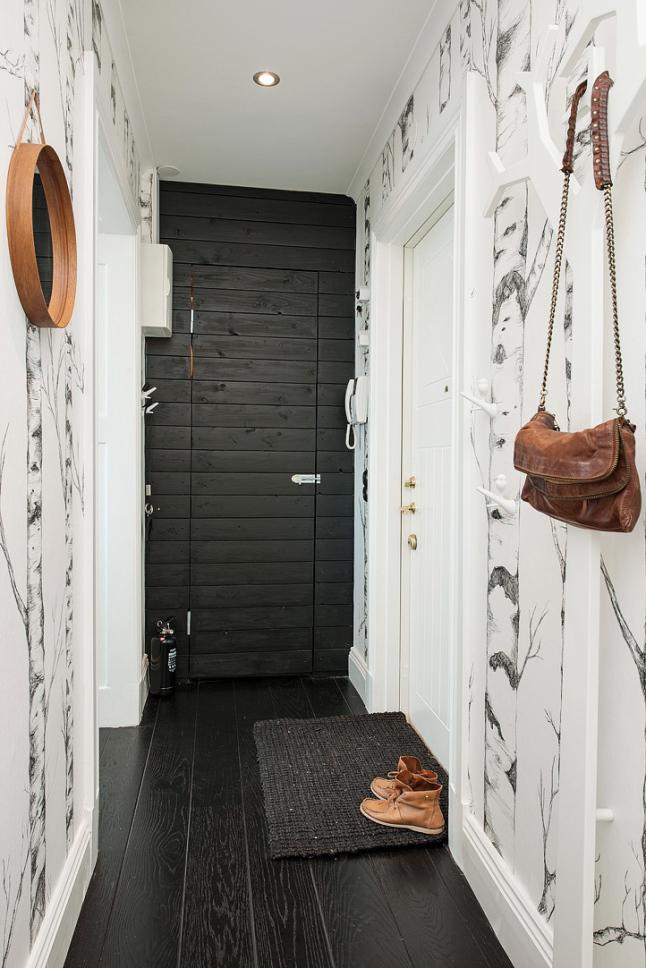 Detalles de estilo puerta negra