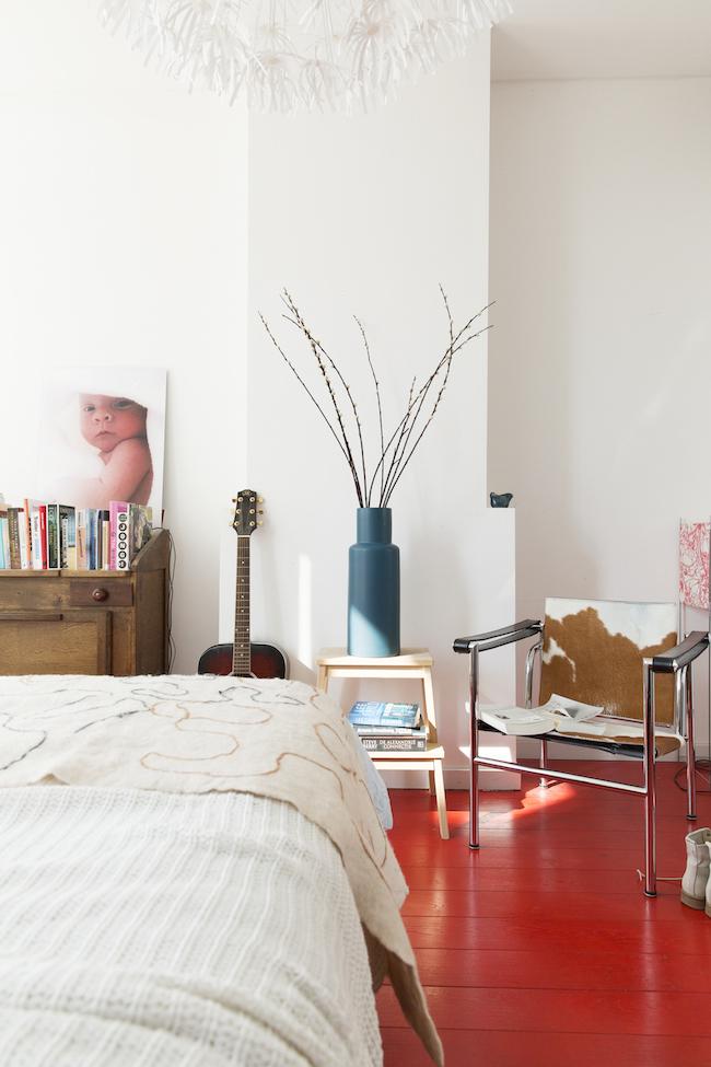Suelos Rojos Dormitorio