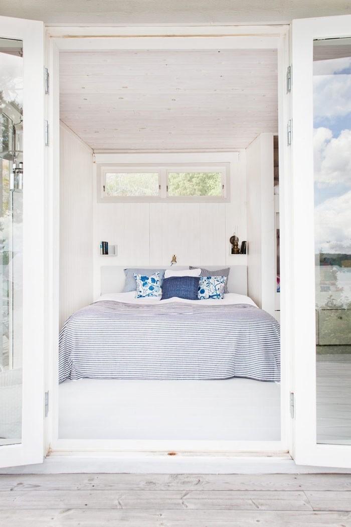 Apartamento en la playa dormitorio