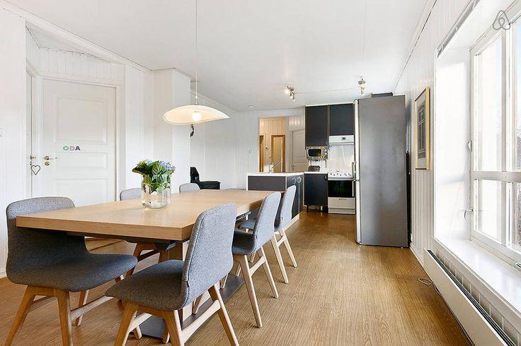 Casa de Vacaciones en la Costa Noruega Cocina integrada