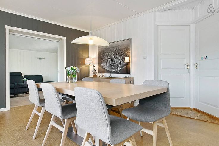 Casa de Vacaciones en la Costa Noruega comedor