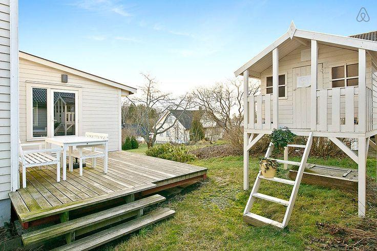 Casa de Vacaciones en la Costa Noruega exterior