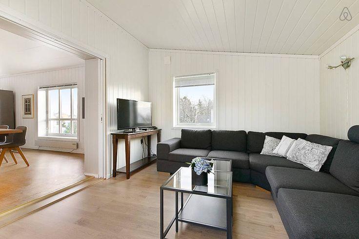 Casa de Vacaciones en la Costa Noruega salón