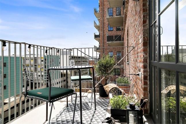Decorar una casa de ciudad terraza