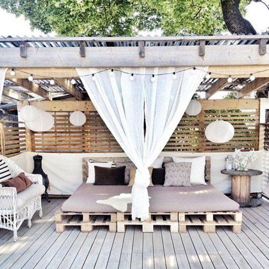 Outdoor Bed Inspiración
