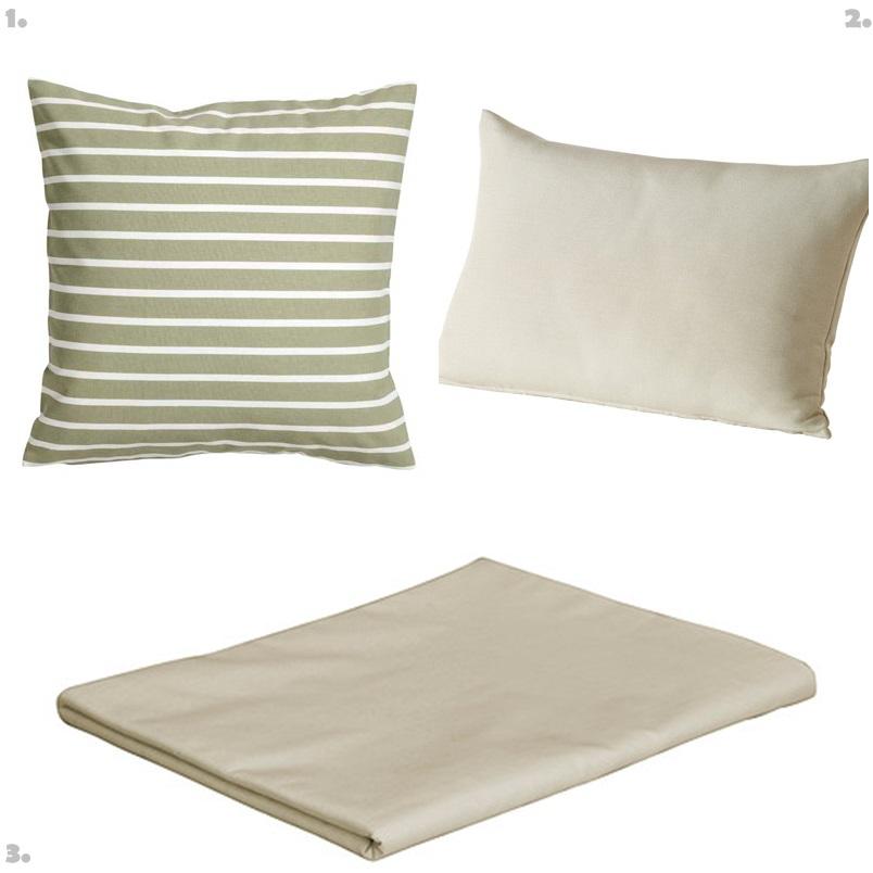 Outdoor Bed Textiles