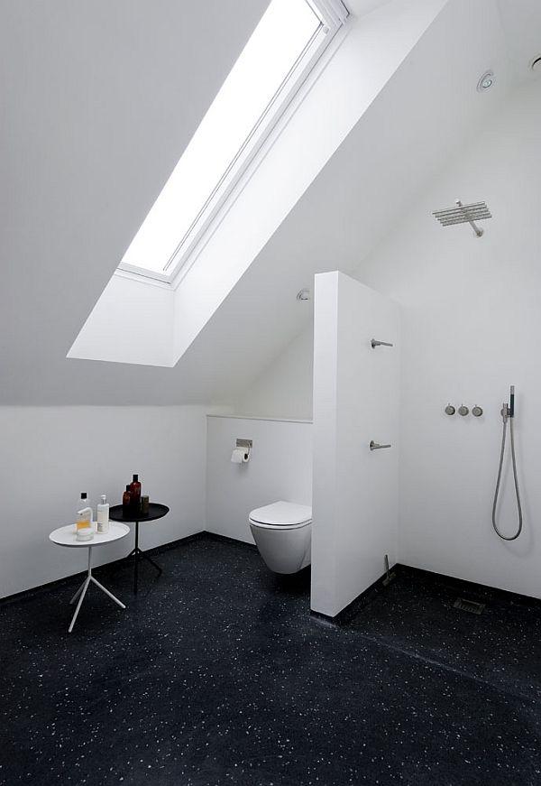 Blackhouse baño blanco y negro