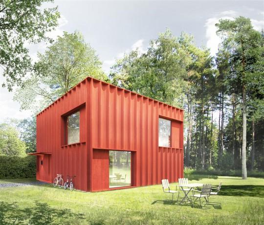 Casa Nórdica Click House fachada