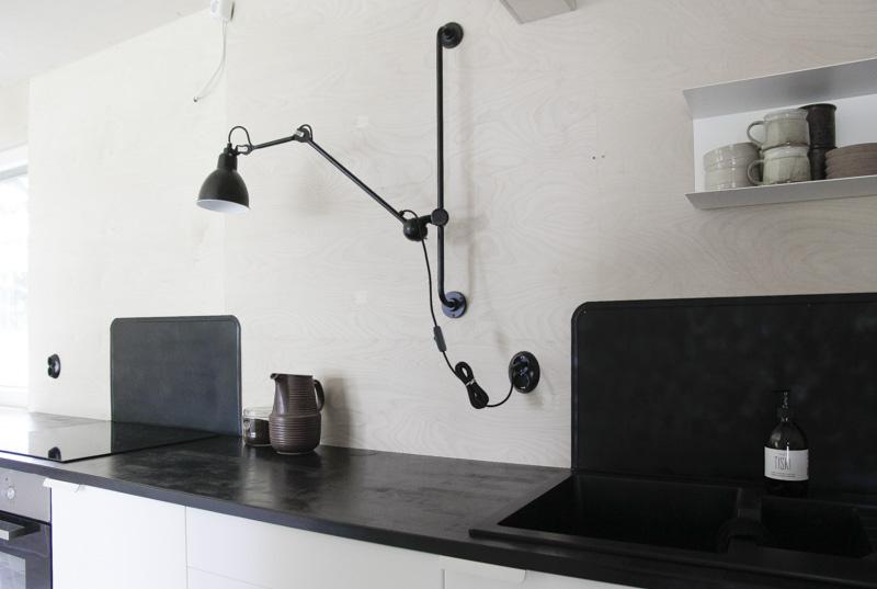 Casa de Verano en Finlandia detalles cocina