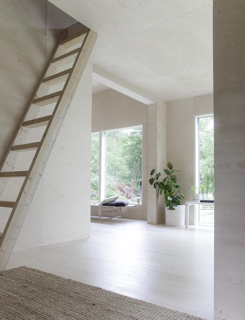Casa de Verano en Finlandia luz natural