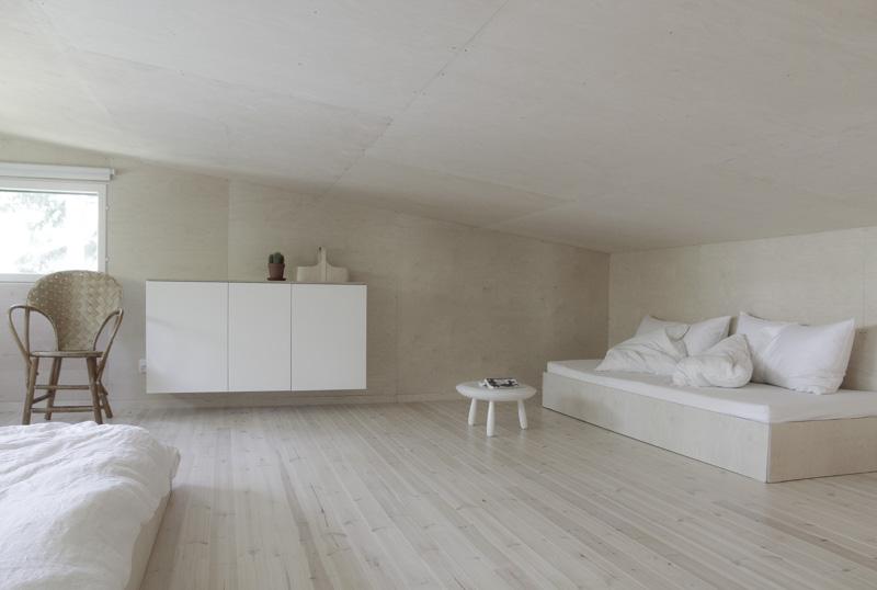Casa de Verano en Finlandia sofá