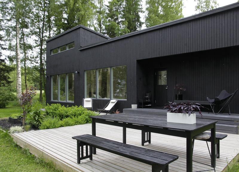 Casa de verano en Finlandia Blackhouse