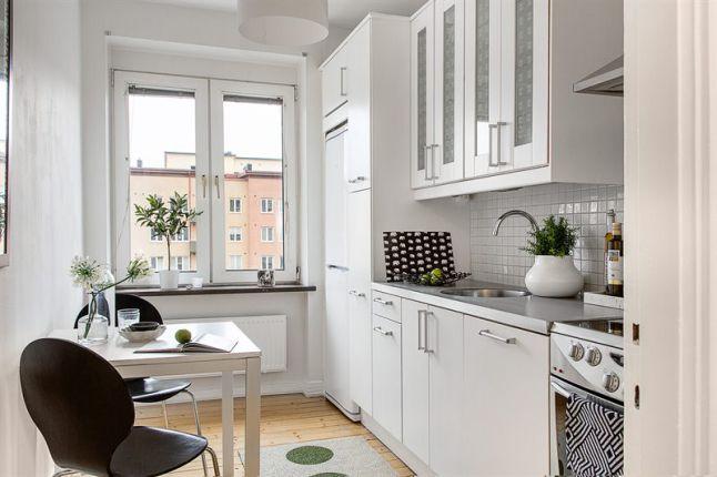 Interior Nórdico Mesa Cocina