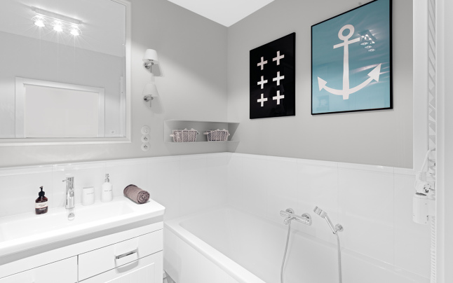 Nordic Home Bathroom 02