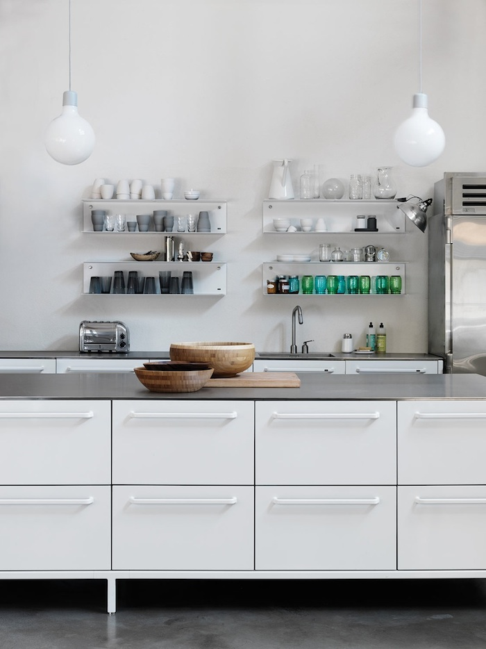 Open Shelving Kitchen blanca