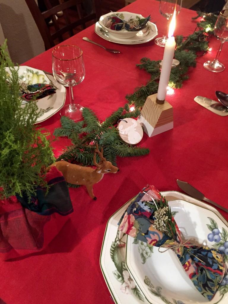 Mesa Navidad Natural