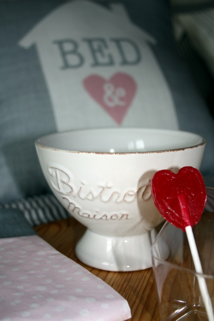 Desayuno de San Valentin con Corazón