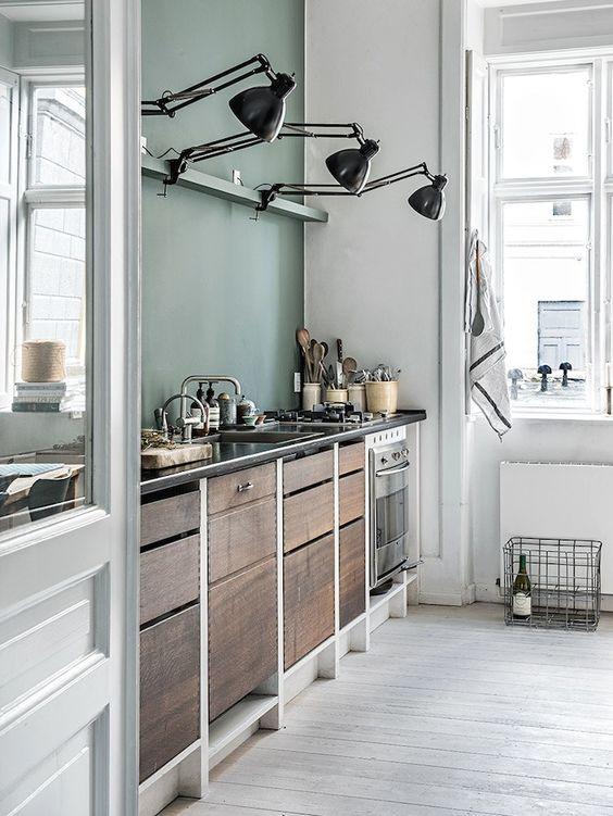 Flexos en la Cocina con color