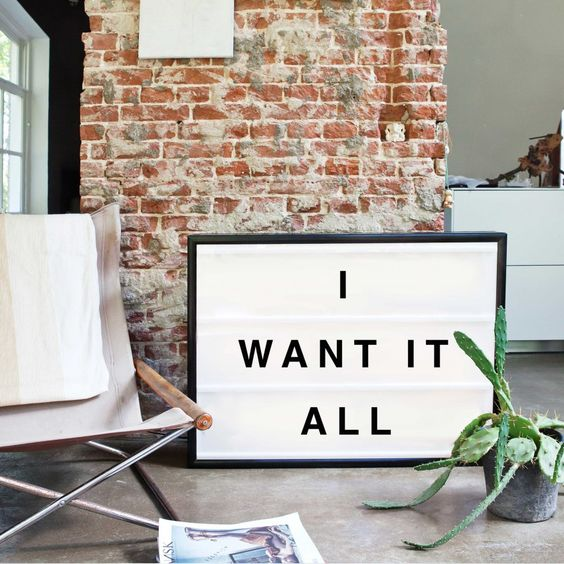 Wishlist Deco Lightbox