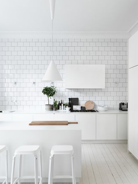 Subway Tiles en la Decoración de Estilo Nórdico