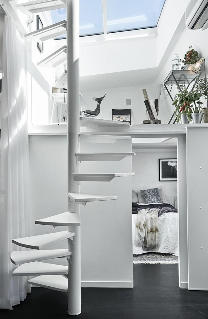 Apartamento Nórdico Doble Altura