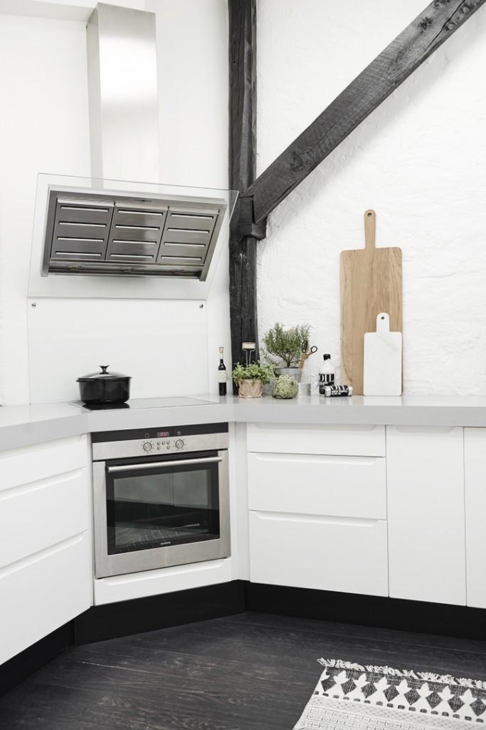 Apartamento Nórdico Cocina