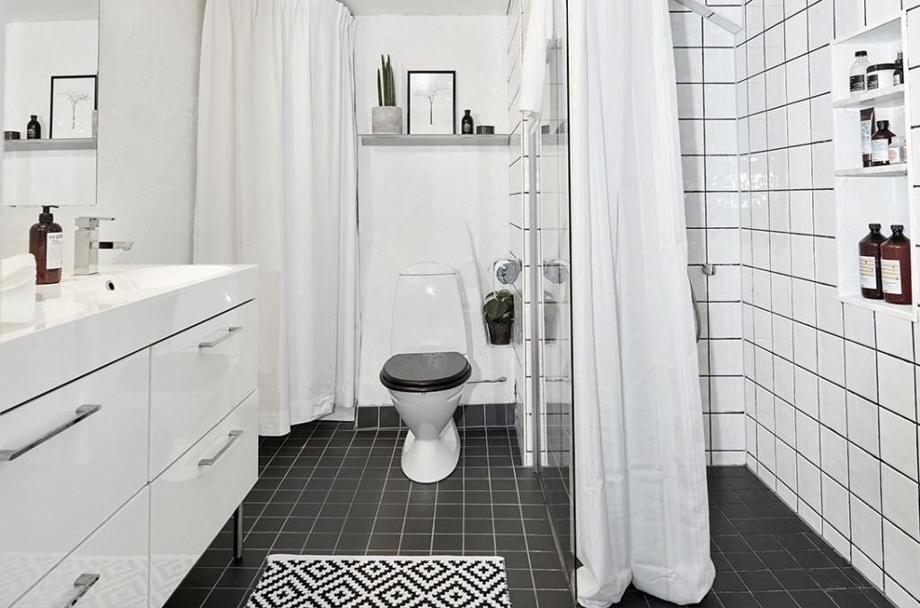 Apartamento Nórdico Baño