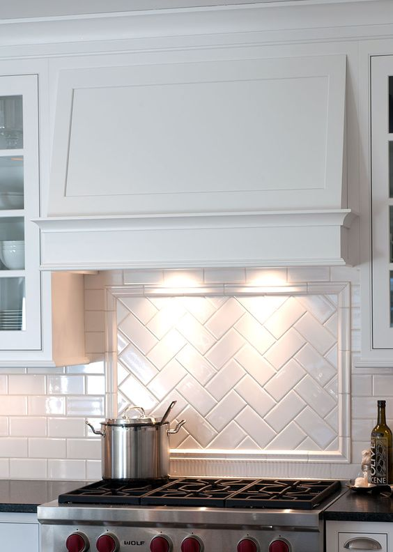 Subway Tiles en la decoración de estilo nórdico - versatilidad