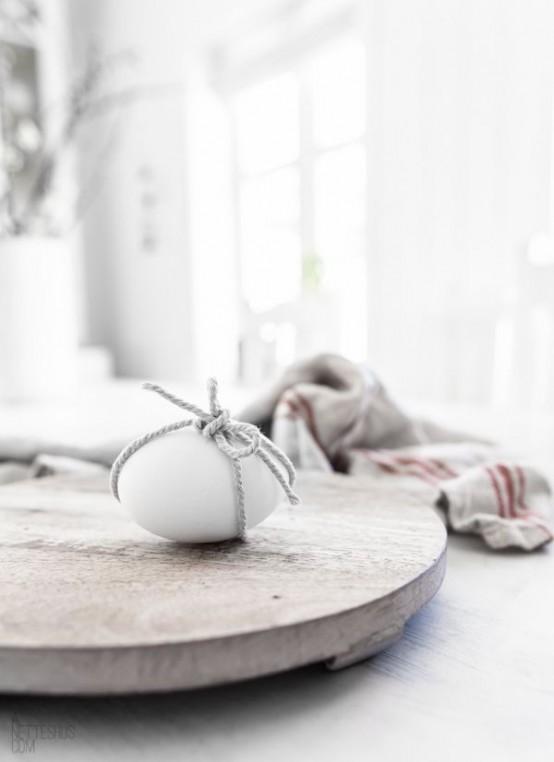 Mesa de Pascua Nórdica con Huevo