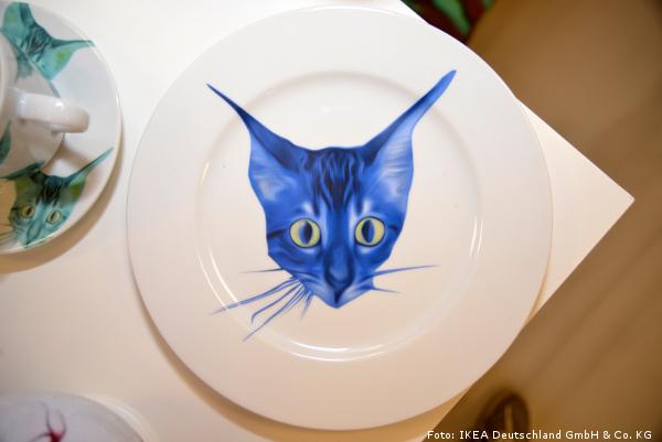 Giltig de Ikea - plato gato