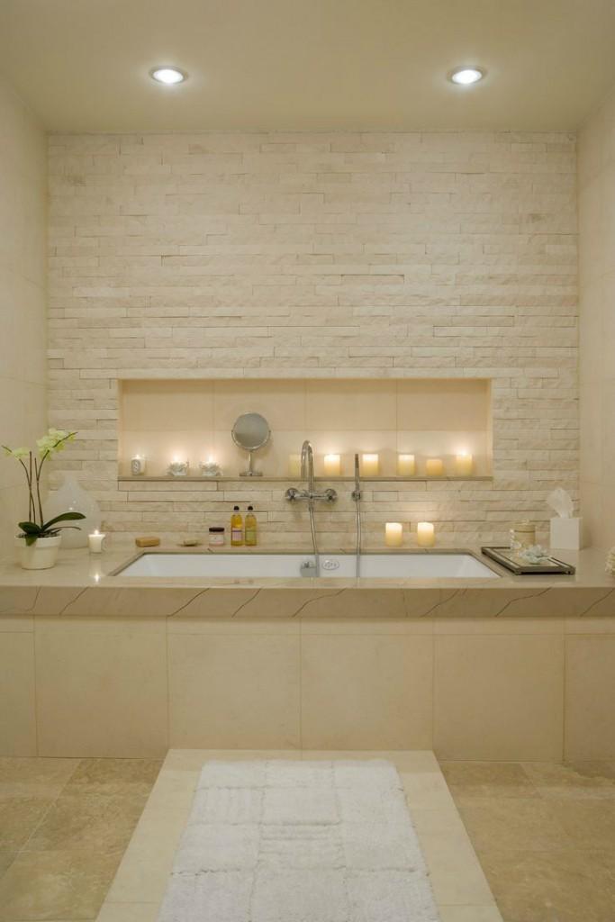 Baño Spa con Velas