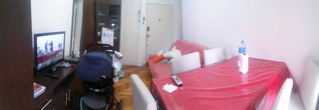 Salón pequeño estado actual