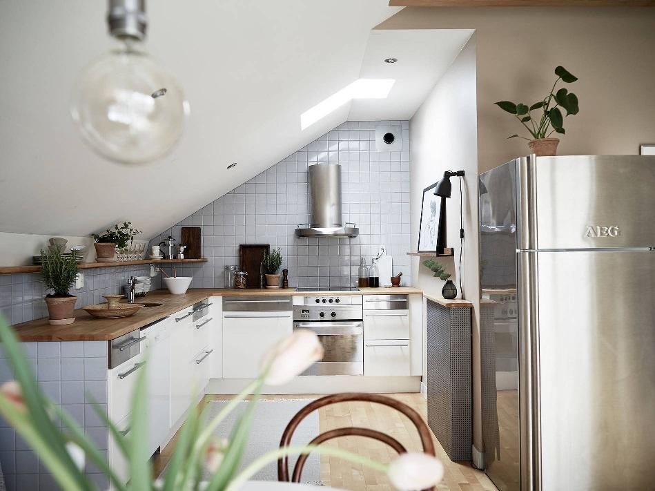 Decorar un espacio pequeño cocina