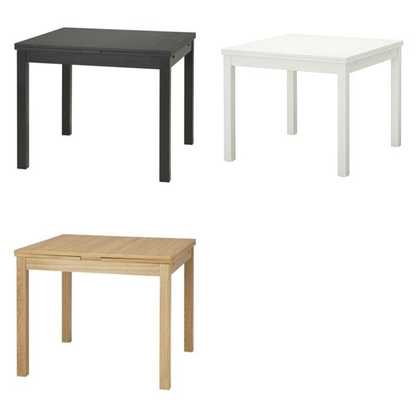 Salón pequeño - mesas de comedor extensibles