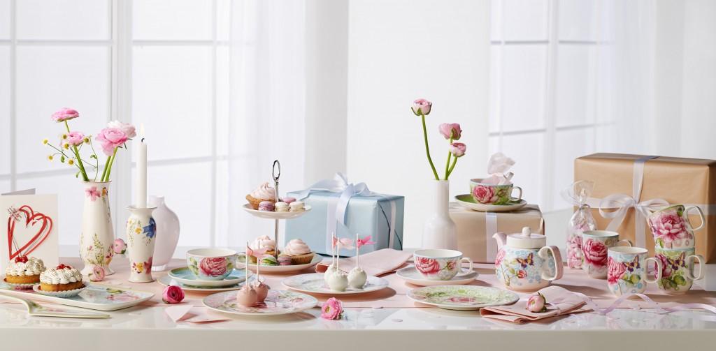 Mesas Bonitas para el día de la Madre - desayuno