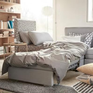 Novedades de Ikea Vallentuna cama