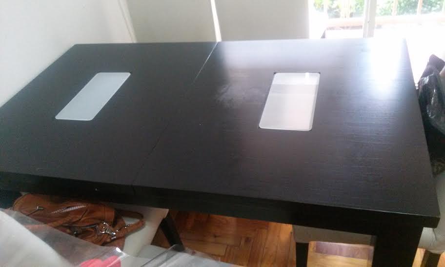 Salón pequeño mesa comedor