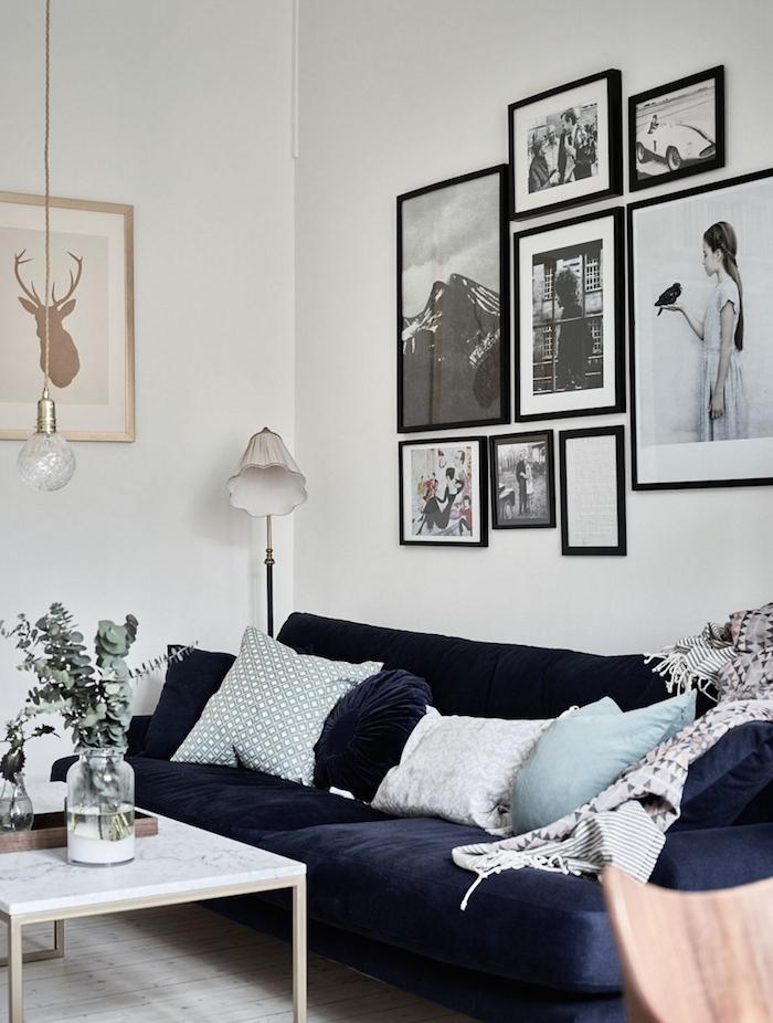 Interior Sueco Sofá