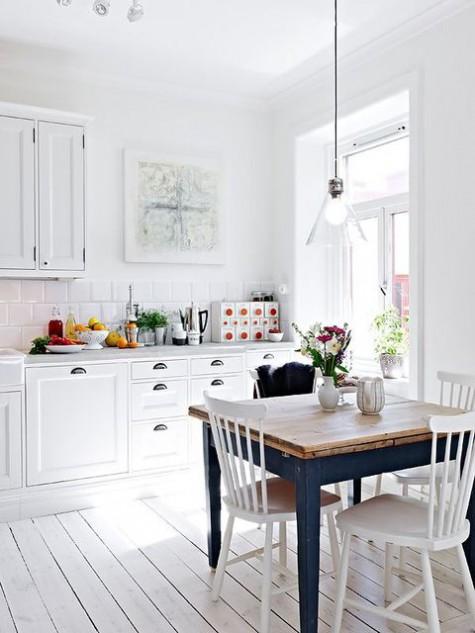 Reformar la cocina con estilo nórdico
